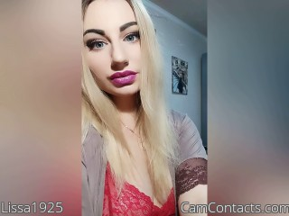 Webcam model Lissa1925 from CamContacts
