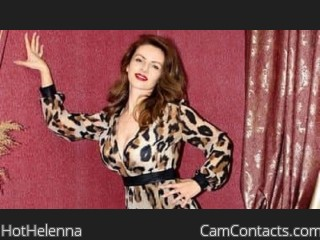 Webcam model HotHelenna from CamContacts