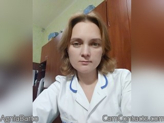 Webcam model AgniaBarto from CamContacts