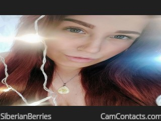 Webcam model SiberianBerries from CamContacts