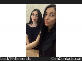 Webcam model black19diamonds from CamContacts
