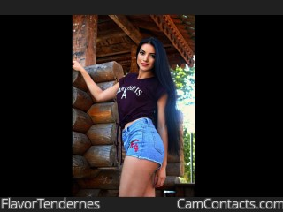 Webcam model FlavorTendernes from CamContacts