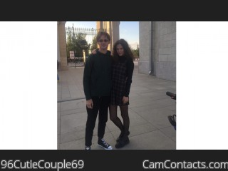Webcam model 96CutieCouple69 from CamContacts