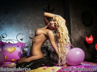 Webcam model BarbieBallerina from CamContacts