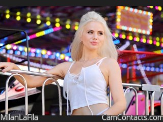 Webcam model MilanLaFila from CamContacts