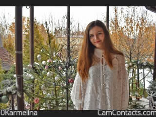 Webcam model 0Karmelina from CamContacts
