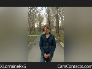 Webcam model XLorraineRxS from CamContacts