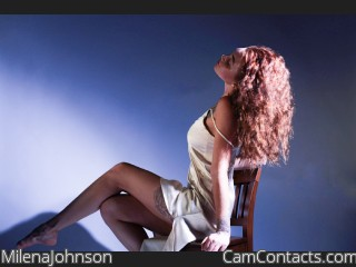 Webcam model MilenaJohnson from CamContacts