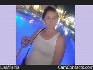 Webcam model LiaMilania from CamContacts