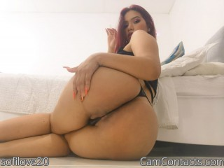 Webcam model sofilove20 from CamContacts