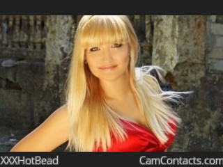 Webcam model XXXHotBead from CamContacts