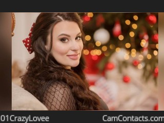 Webcam model 01CrazyLovee from CamContacts