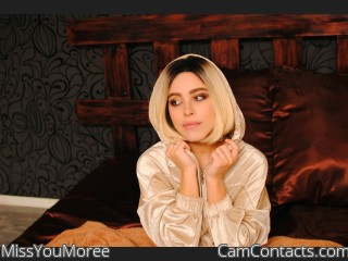 Webcam model MissYouMoree from CamContacts