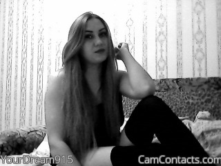 Webcam model YourDream915 from CamContacts