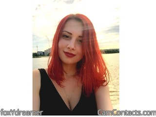 Webcam model foxYdreamer from CamContacts