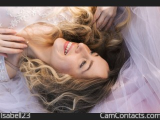 Webcam model Isabell23 from CamContacts