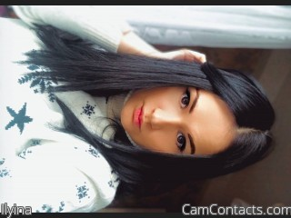 Webcam model Ilyina from CamContacts