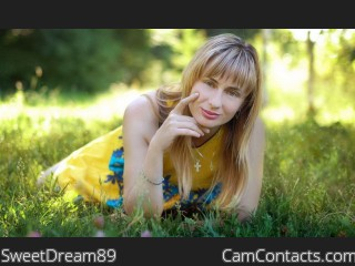 Webcam model SweetDream89 from CamContacts