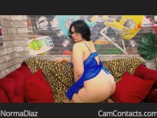 Webcam model NormaDiaz from CamContacts