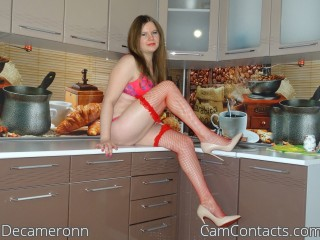 Webcam model Decameronn from CamContacts