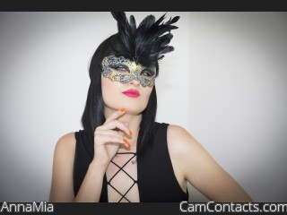 Webcam model AnnaMia from CamContacts