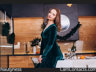 Webcam model Nautyness from CamContacts