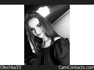 Webcam model Olechka33 from CamContacts