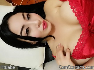 Webcam model FitBabe from CamContacts