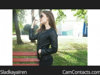 Webcam model SladkayaIren from CamContacts