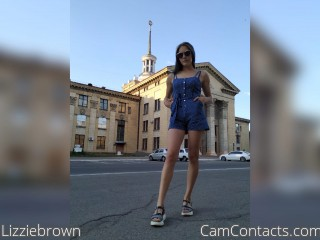 Webcam model Lizziebrown from CamContacts