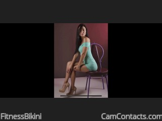 Webcam model FitnessBikini from CamContacts