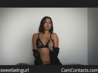 Webcam model sweetlatingurl from CamContacts