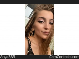 Webcam model Anya333 from CamContacts
