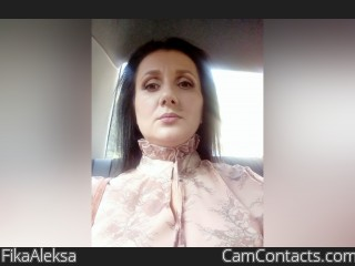 Webcam model FikaAleksa from CamContacts