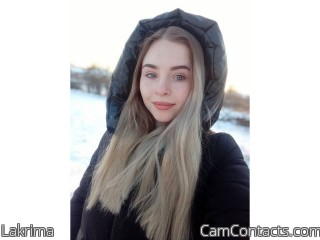 Webcam model Lakrima from CamContacts