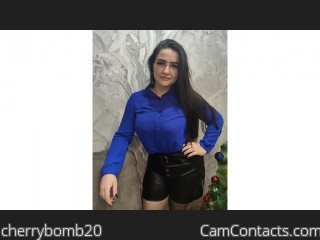Webcam model cherrybomb20 from CamContacts