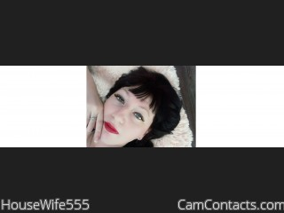 Webcam model HouseWife555 from CamContacts