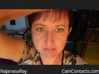 Webcam model NajanesaRay from CamContacts