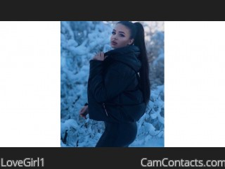 Webcam model LoveGirl1 from CamContacts