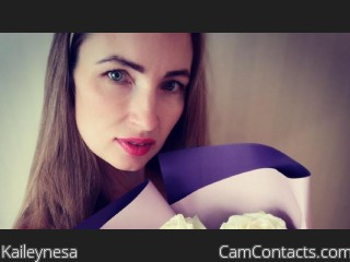 Webcam model Kaileynesa from CamContacts
