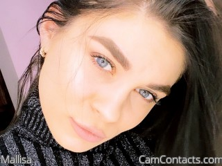 Webcam model Mallisa from CamContacts