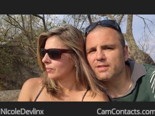 Webcam model NicoleDevlinx from CamContacts