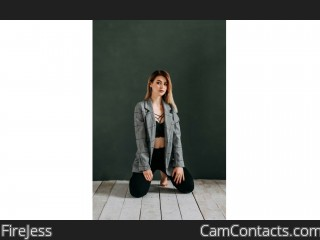 Webcam model FireJess from CamContacts