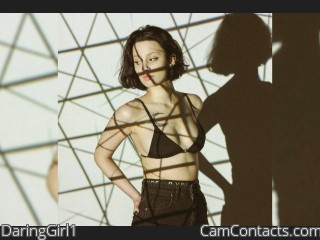 Webcam model DaringGirl1 from CamContacts
