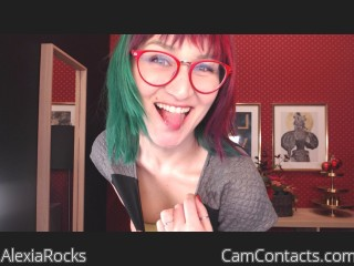 Webcam model AlexiaRocks from CamContacts
