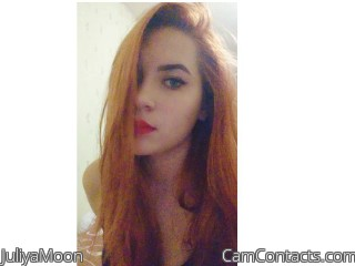 Webcam model JuliyaMoon from CamContacts