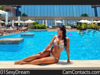 Webcam model 01SexyDream from CamContacts
