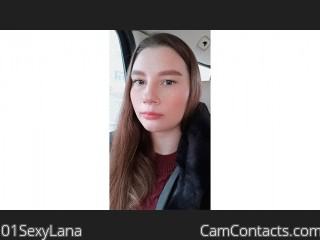 Webcam model 01SexyLana from CamContacts