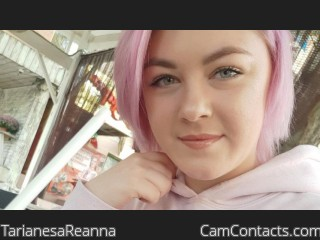 Webcam model TarianesaReanna from CamContacts