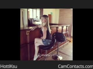 Webcam model HottiKsu from CamContacts